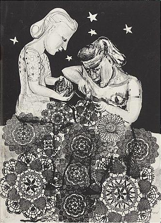 Lena Cronqvist litografi