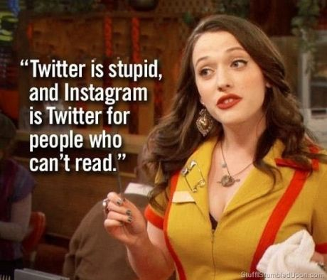 I love this show and Kat Dennings.  I want to hang out with her as kat or max