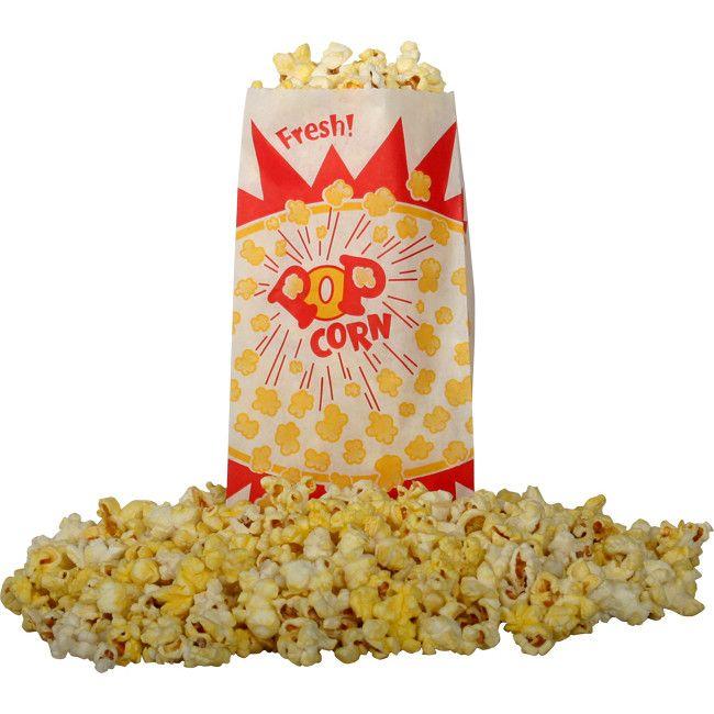 Snappy Popcorn Burst Design Popcorn Bag (Set of 1000)