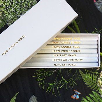 Mother's Day Personalised Pencils