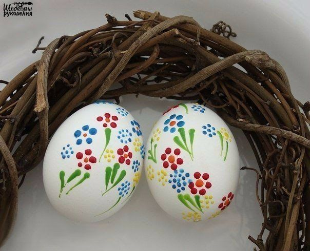 Украшение пасхальных яиц   / Живой лёд глобальных вопросов