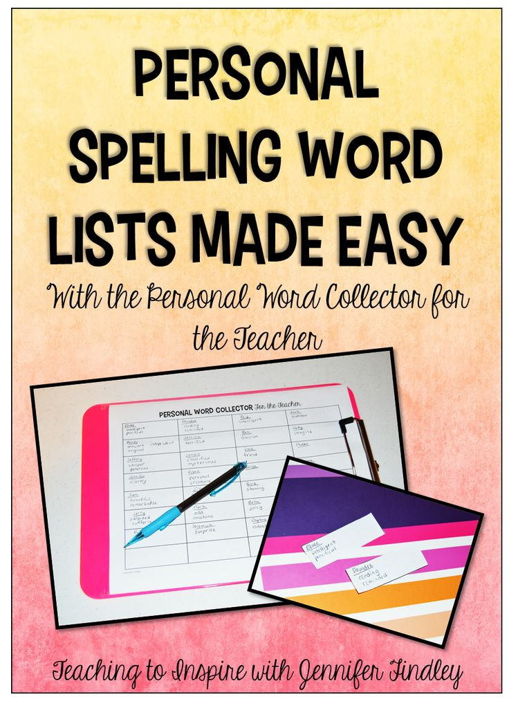 Personal Word Collector for the Teacher Teaching with