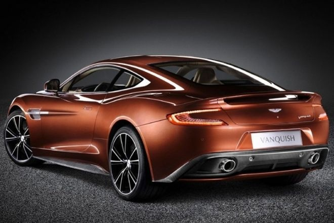 2013 Aston Martin Vanquish.