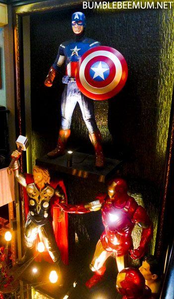 hungry heroes cafe avengers superhero theme cafe Singapore 22