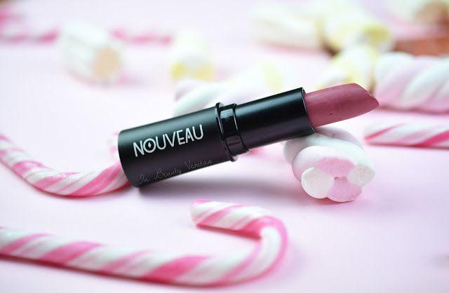 Nouveau Cosmetics Seasons Lipstick - Swatch & Review - Brick   #lipstick #makeup #nouveaucosmetics