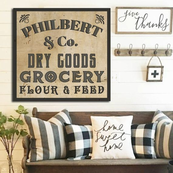 Wall Decor For Large Living Room Wall Part - 23: Farmhouse Name Sign Wedding Established Family Sign Last Name Wall Decor  Custom Family Name Sign Personalized Family Name Gift For Couple