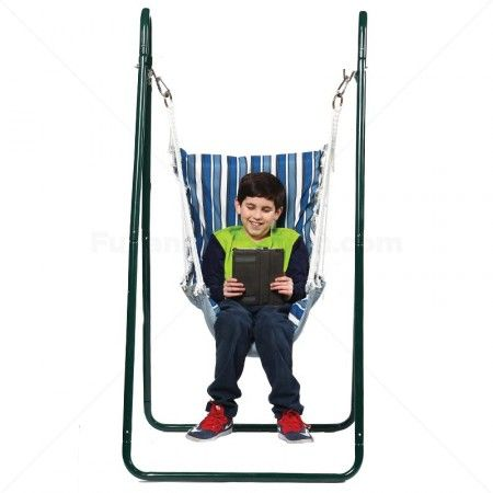 Indoor/Outdoor Swing Chair & Stand | Hammock Swing Chair for Sensory Integration Therapy