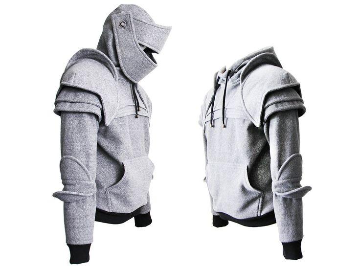knight hoodie/armor hoodie/knight hoodies/armor sweatshirt/medieval hoodie/armor sweater/knight sweater/Duncan Armored Knight Hoodie