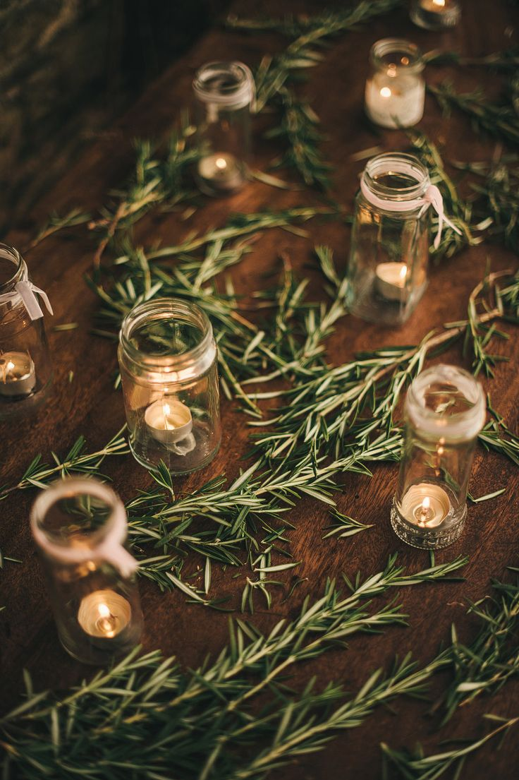 rosemary wedding decoration