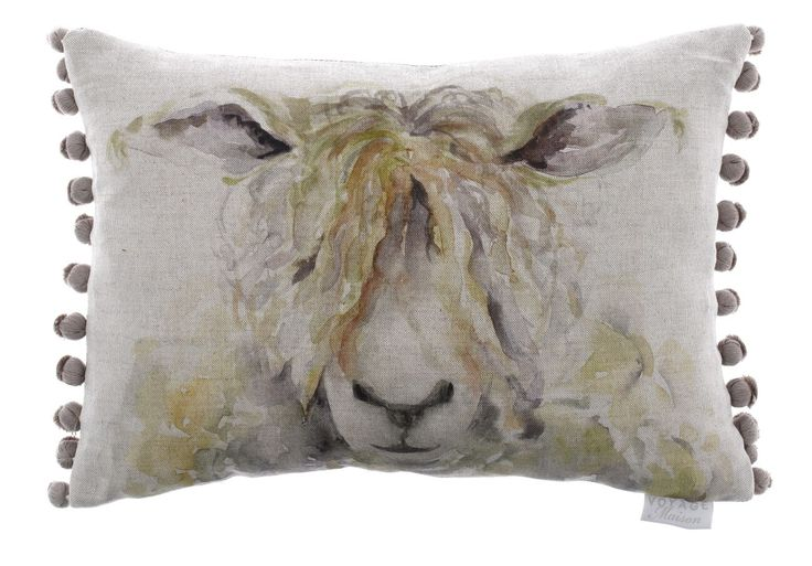 Mr Wooly Cushion