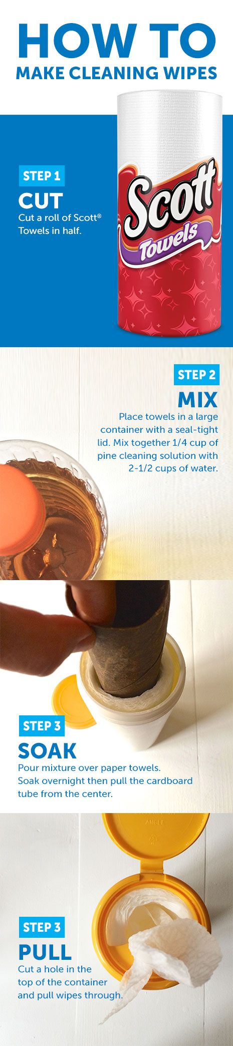 how to make your own disinfectant
