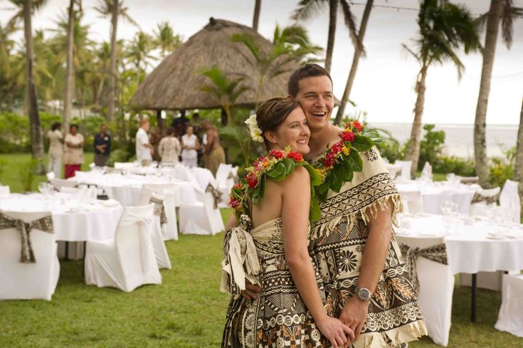 Fiji wedding romantic