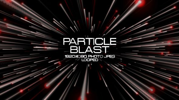 Particle Blast Video Animation | Full HD 1920×1080 | Looped | Photo JPEG | Can use for VJ, club, music perfomance, party, concert, presentation | #abstract #blast #dance #edm #galaxy #glow #loop #meteor #moving #music #particle #shine #space #vj #white