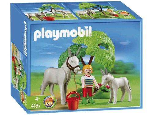 $12.99 Playmobil Donkey with Foal  From PLAYMOBIL®   Get it here: http://astore.amazon.com/toys4kids09-20/detail/B000N1XQCU/186-4678595-8875665