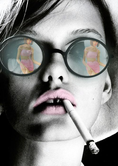 fumar blanco aficionado
