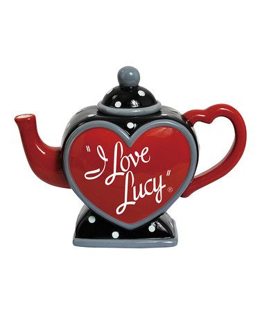 I Love Lucy TeapotCeramic Teapot, Teas Time, Lucy Teapots, Teas Pots, Ounce Teapots, Lucille Ball, Lucy Ceramics, I Love Lucy, Westland Giftwar
