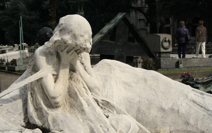 Cementerio de Milan. La pasión.