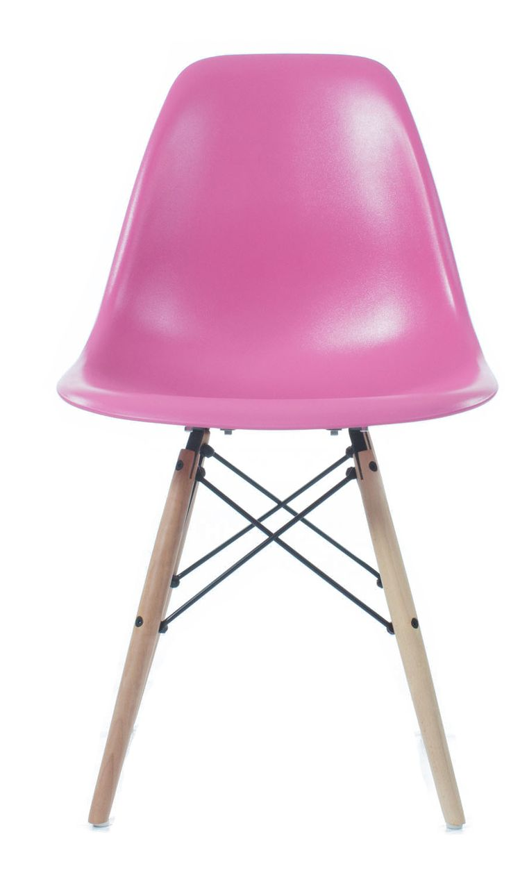 Mitchell & Eames Style DSW Side Chair - Pink