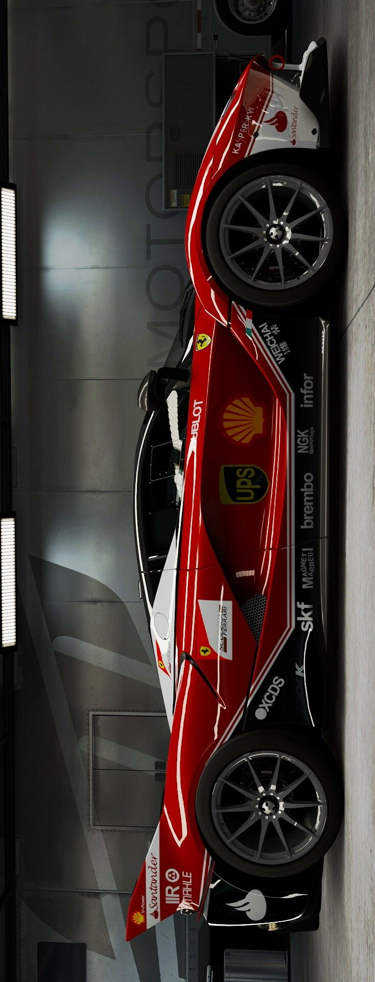 (°!°) Ferrari FXX-K using F1 Livery, HELL-yeah....