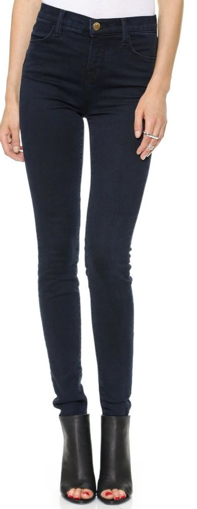 The jeans every woman should own - skinny jeans. It's impossible to go wrong with a simple pair of skinny jeans. You can dress them up or down, and with so many different washes available, it's easy to find the look that is right for you.  J Brand Jeans Maria High Rise Photo Ready Jeans ($189)