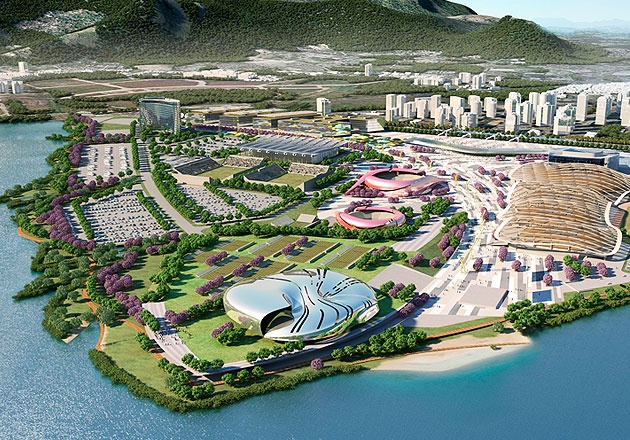 Rio 2016, Olympic Master Plan: Projects, Master Plan, Perspective