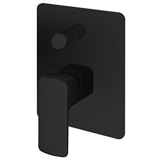 badewannen dusche unterputz einhebelmischer mischbatterie wannenarmatur armatur schwarz sanlingo kuls - Unterputz Armatur Dusche Set