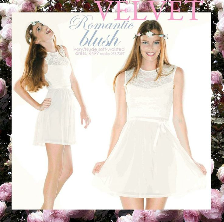 Dress by VELVET, R499. Ivory and nude. https://www.facebook.com/photo.php?fbid=713504598671634&set=a.710707918951302.1073741836.272223432799755&type=1&theater