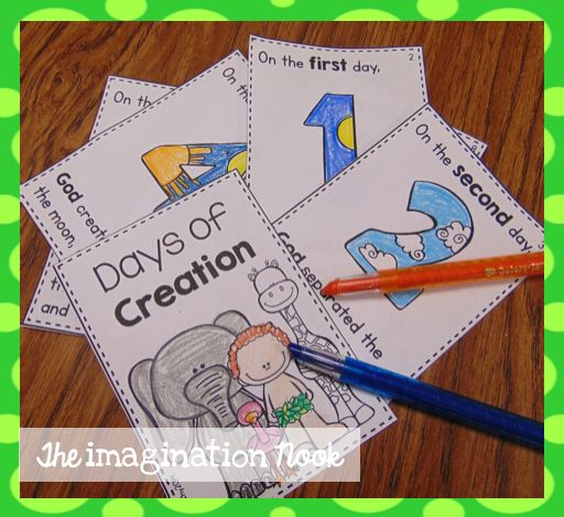 Classroom Freebies Too: Days of Creation Booklet