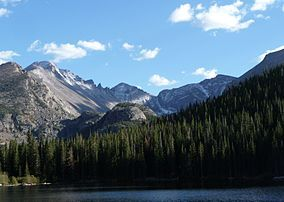 Rocky Mountain National Park- we took a great hike in this park, and saw lots of wildlife