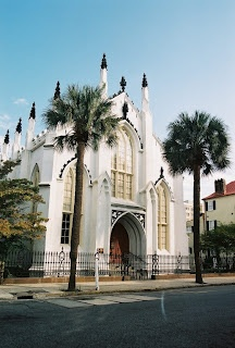 "French Huguenot Church Charleston, South Carolina. Curtis ""The Raven"" Ravenel"