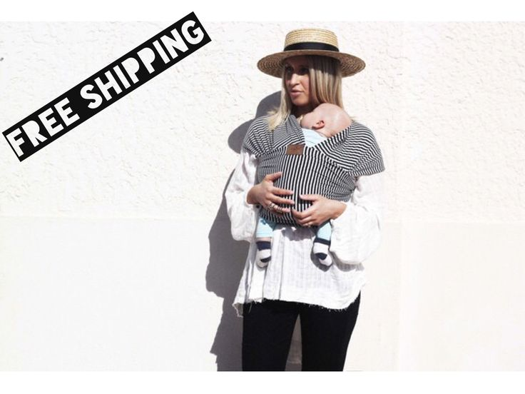 Chekoh Black Stripe Wrap www.babycarriersaustralia.net.au/chekoh-1