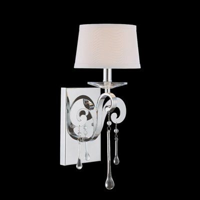 Savoy House 9-4246-1-11 Niva Wall Sconce, Polished Chrome ... on Decorative Wall Sconces Candle Holders Chrome Nickel id=96754