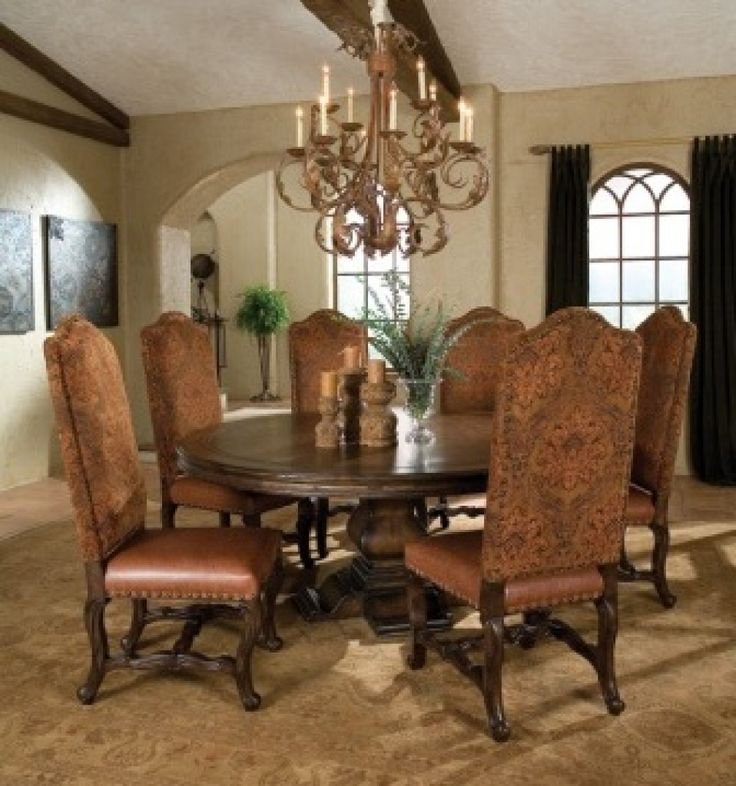 Mediterranean Style Dining Room Sets: 246 Best Images About Tuscan Style On Pinterest