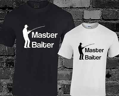 Master baiter mens t #shirt funny rude joke #fishing #angling gift present,  View more on the LINK: http://www.zeppy.io/product/gb/2/281728951916/