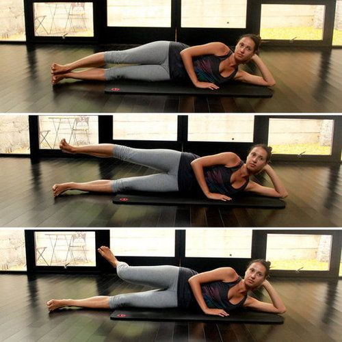 Best Exercises For outer thigh..ok ill try it..gona put it in my next week workouts (¦