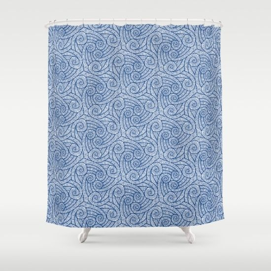 La Corriente Shower Curtain