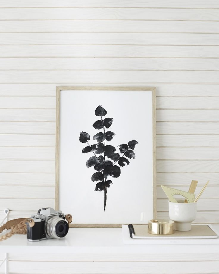 Obsessed with these gorgeous eucalyptus prints by Riikka Kantinkoski
