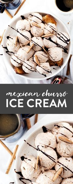 Cool down with this simple and delicious NO CHURN Mexican Churro Ice Cream! Preps in minutes, just pop in the freezer and get ready for…
