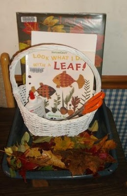 Activate Imaginations with A Picture Book-Inspired Leaf Art Tray from Training Happy Hearts