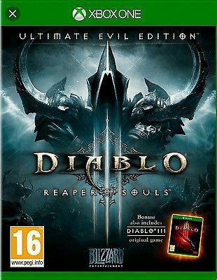 Diablo 3 reaper of souls Xbox One disco e confezione originale