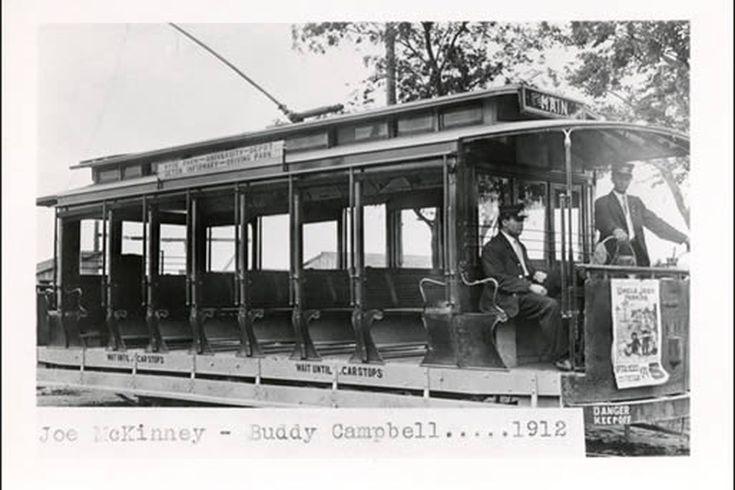 Austin's first light rail: Photos of streetcars past - Curbed Austin