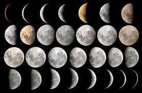 Αποτέλεσμα εικόνας για οι φάσεις της σελήνης στο νηπιαγωγείο
