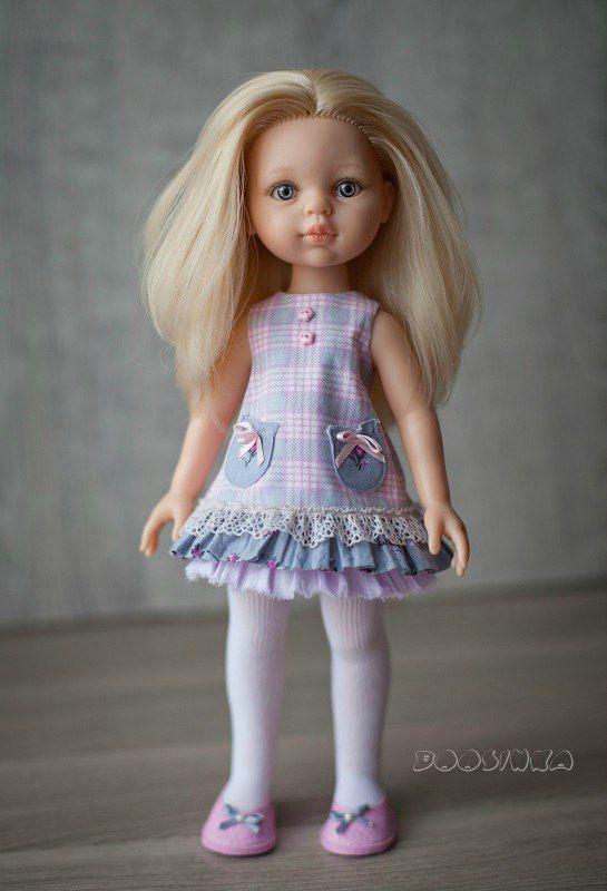 """""""Бусинка"""" Одёжка для кукол Paola Reina   VK"""