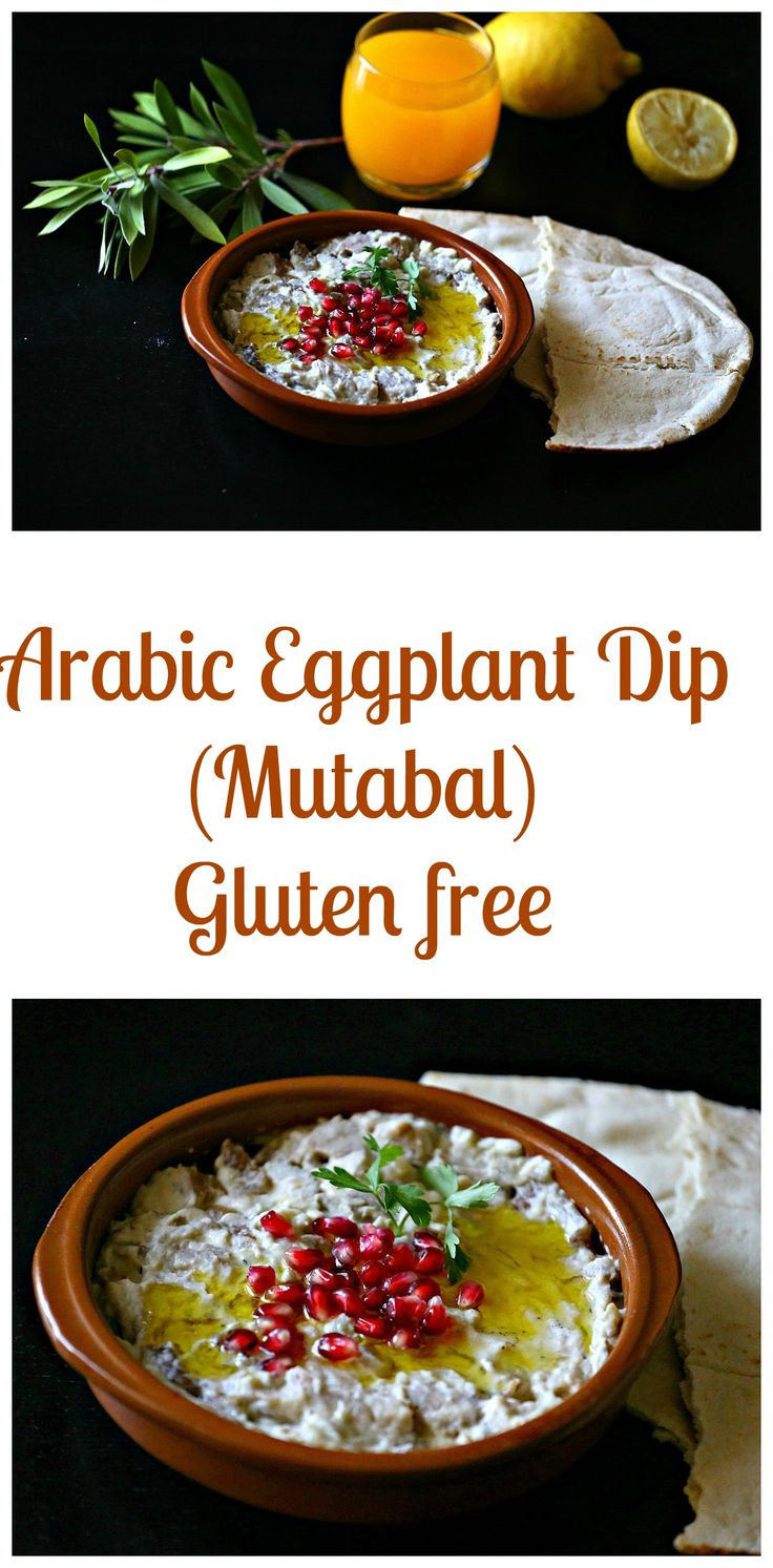 Eggplant dip (mutabal) is very popular in Arabic cuisine, it's is an easy to whip dip and very nutritious. It's full of flavor and it's gluten free