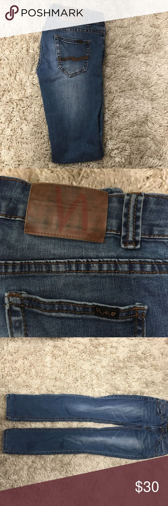 Nudie jeans These jeans are extremely comfortable!! Any questions just ask, will consider trade. Nudie Jeans Jeans Skinny