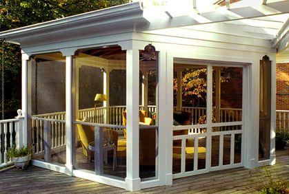 Best Screened In Porch Patio Deck Enclosures Ideas