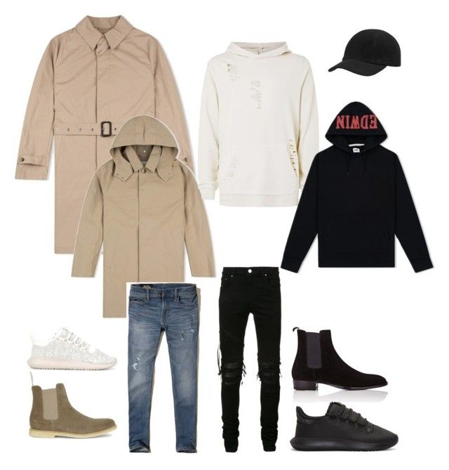 """""""dfkjghe"""" by darie-turie on Polyvore featuring Topman, Hollister Co., Common Projects, adidas Originals, AMIRI и Yves Saint Laurent"""