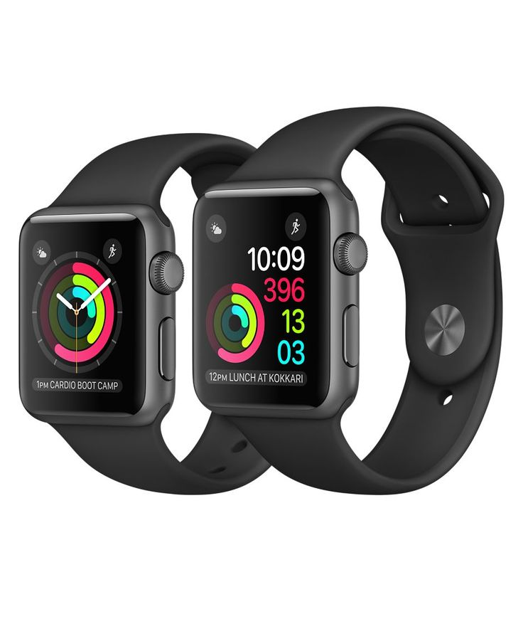 Shop Apple Watch Space Grey Aluminium in 38mm or 42mm. Available in Series 1 or Series 2 with built-in GPS. Buy now with fast, free shipping.