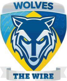 1876, Warrington Wolves (Warrington, Cheshire) Status: Present, Halliwell Jones Stadium #WarringtonWolves #WarringtonCheshire #Rugby (L8276)
