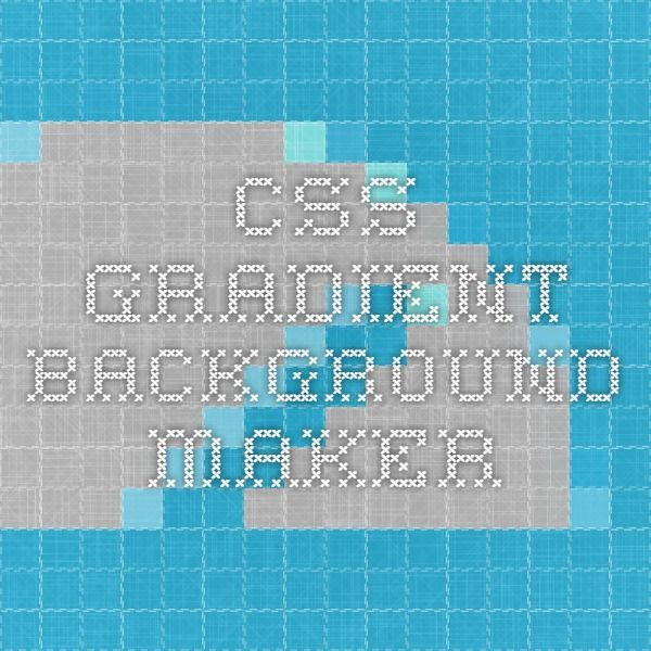 CSS Gradient Background Maker